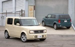 Nissan Cube vs. Toyota xB