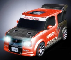 Заряженный Nissan Cube