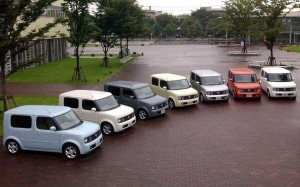 Nissan Cube Colors