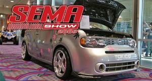 Nissan Cube на SEMA 2009