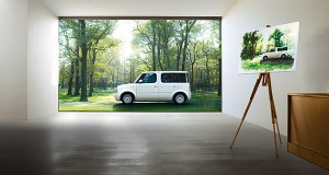 Nissan Cube Art Room Edition