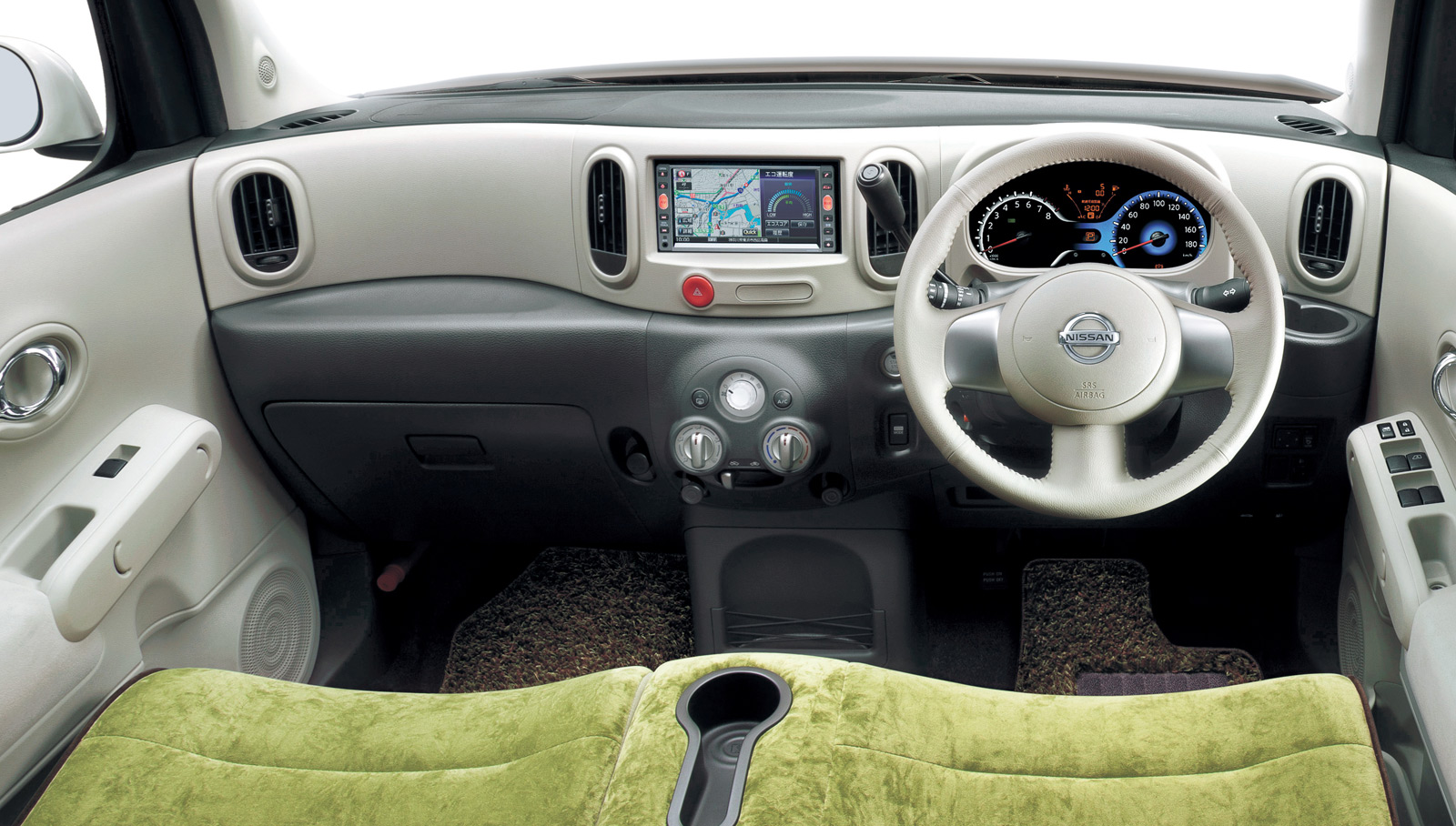 Nissan Cube Z Green Selection Interior on Nissan Cube Interior